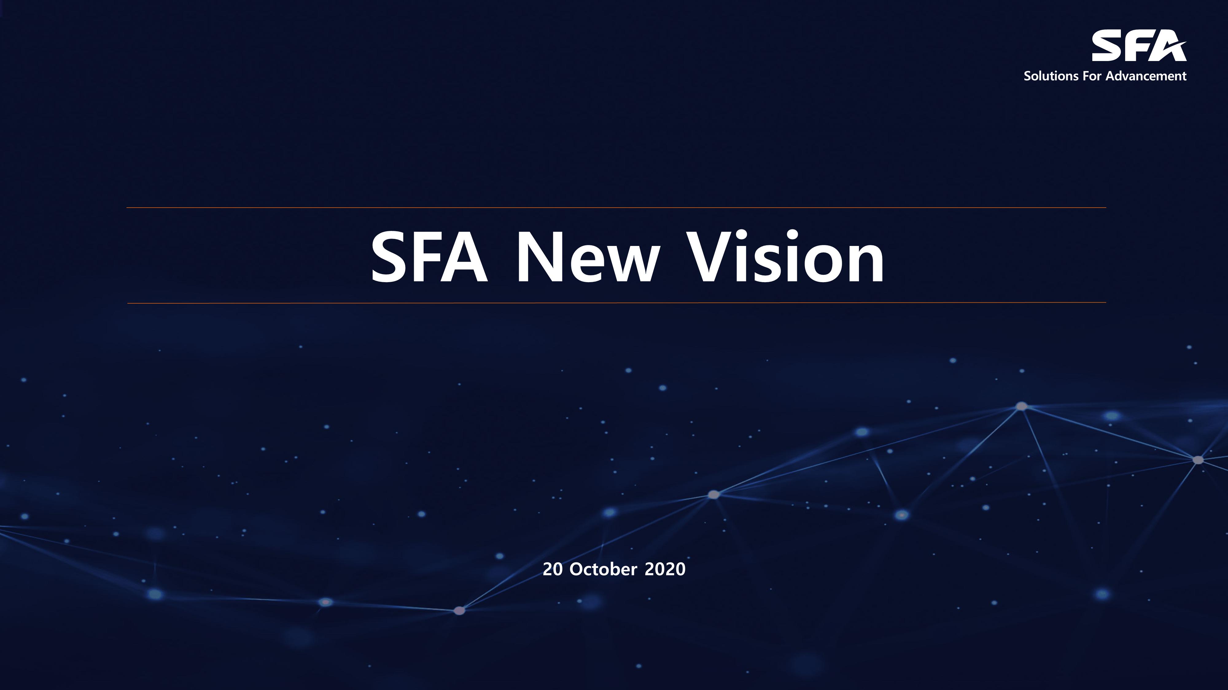 SFA New Vision